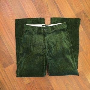 Zara Corduroy Wide Leg Pants